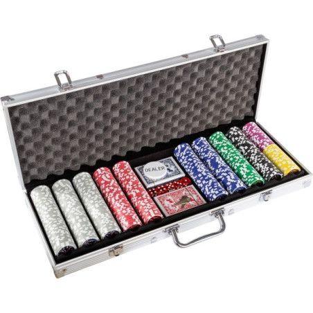 Pokerisetti 500 pelimerkkiä