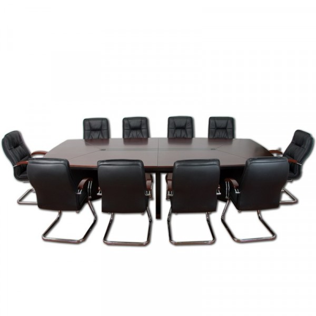 Kokouspöytä, 10 tuolia