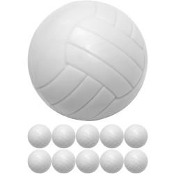 Jalkapallopöydän pallot...