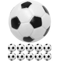 10 jalkapallopöydän palloa...