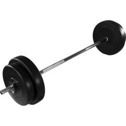 Levytanko + 30kg painot