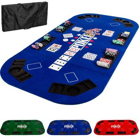 Pokerialusta XXL, 3 eri väriä