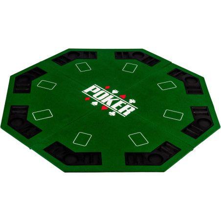 8 paikkainen pokerialusta, 3 eri väriä