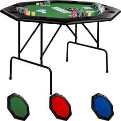8 paikkainen Pokeripöytä...