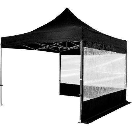 Juhlateltta Premium 3 x 3m kahdella panoraamaikkunalla