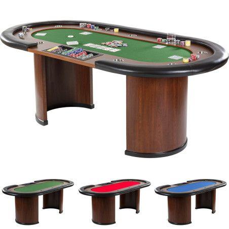 """XXL Pokeripöytä """"Royal flush"""", 3 eri väriä"""