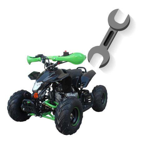 Minimönkijä 110cc kaasuvaijeri