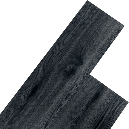 STILISTA® 5,07m²  Vinyylimatto, musta tammi