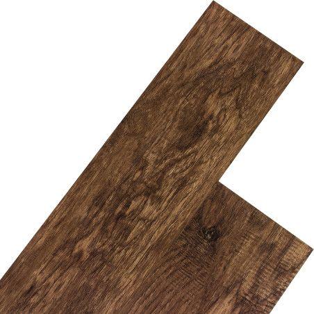 STILISTA® 5,07m²  Vinyylimatto, tumma pähkinäpuu