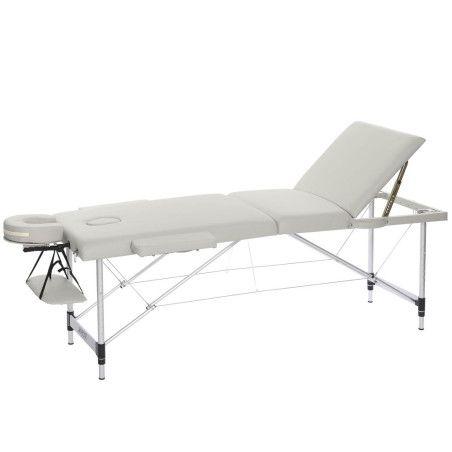 Hierontapöytä Premium 3 vyöhyke - Valkoinen