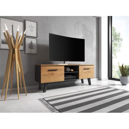 NORD TV-taso musta/puu
