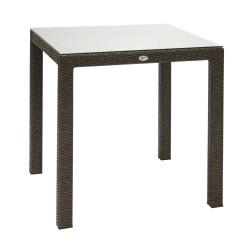 Pöytä WICKER, 73x73xH71cm