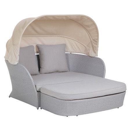 ROSA ulkosohva katoksella ja tyynyillä