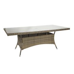 Pöytä WICKER 200x100x74cm