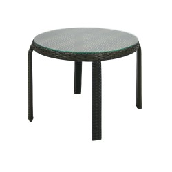 Apupöytä WICKER 52x43cm