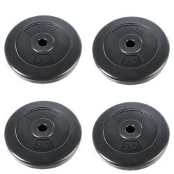 Levypainot 4 x 5 kg (28 mm)