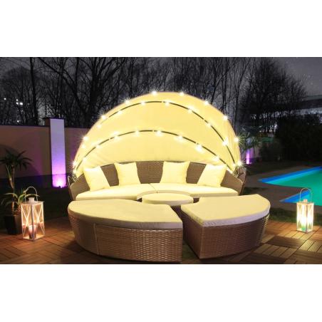 LED aurinkosänky 180cm
