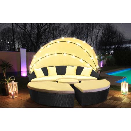 LED aurinkosänky 210cm
