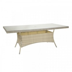 Pöytä WICKER 200x100cm