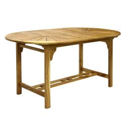 Pöytä FINLAY 153/195x90cm