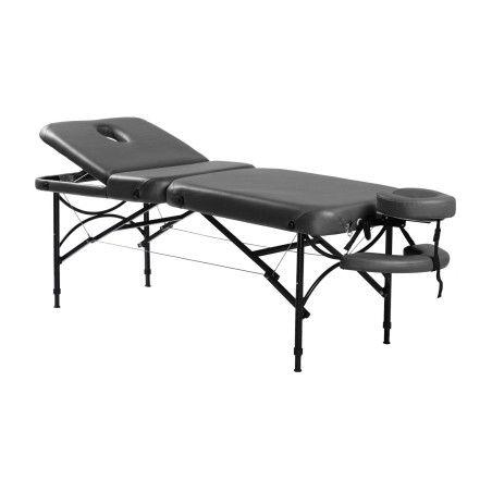REIKU 3-vyöhykkeinen hierontapöytä, musta