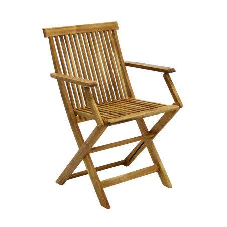Puutarhatuoli FINLAY käsinojilla, 2 kpl