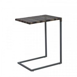 Apupöytä WICKER 51x40x65,5cm