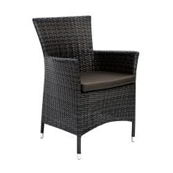 Tuoli WICKER-1 tyynyllä