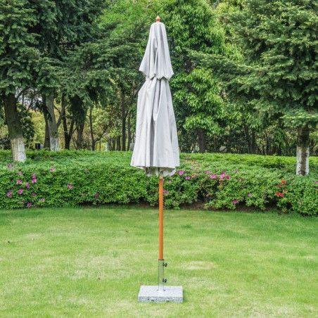 Outsunny Kaksikerroksinen aurinkovarjo 270x260cm