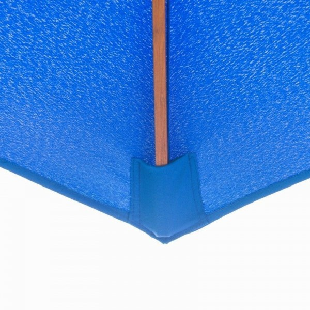 Outsunny Puinen aurinkovarjo 300x245cm (sininen)