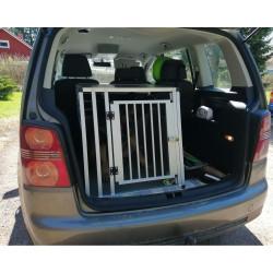 Koirahäkki autoon Alu XXL