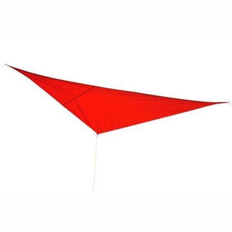 Outsunny kolmiomarkiisi, punainen