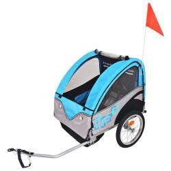 Pyörävaunu sininen
