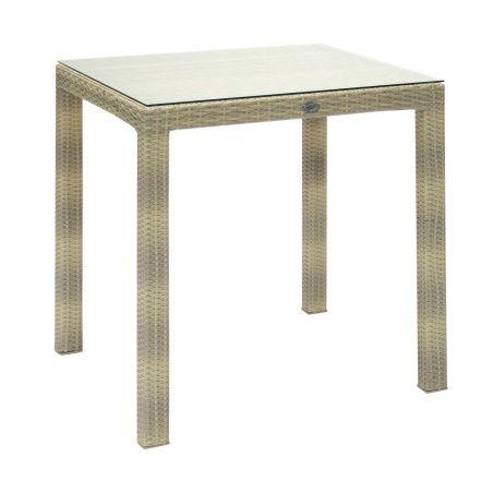 Pöytä WICKER 73x73x71cm