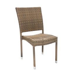 Tuoli WICKER-3 60x49,5x92,5cm
