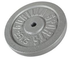 Valurautainen levypaino 25kg
