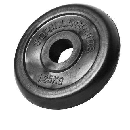 2x1,25kg 2x2,5kg 4x5kg kuminen levypaino