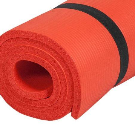 Jumppamatto 190x100x1,5cm Punainen
