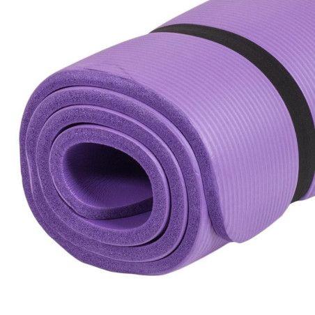 Jumppamatto 190x100x1,5cm Violetti