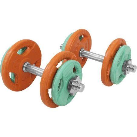 Säädettävät käsipainot 20kg Olympia 30mm