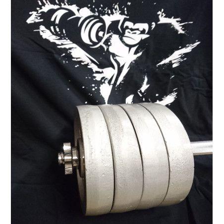 2x42,5kg Valurautainen käsipainosarja