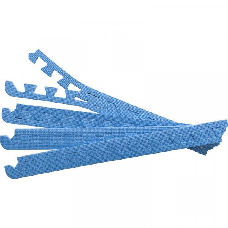 Suojamaton reunapalat 8 kpl sininen