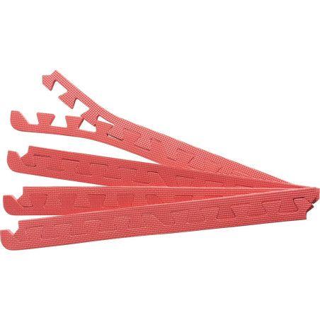 Suojamaton reunapalat 8 kpl punainen