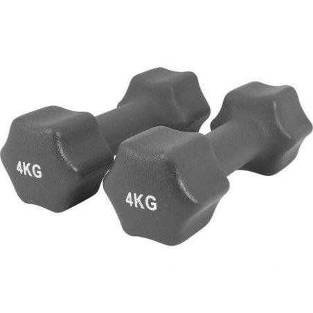 Aerobic käsipainot hexagon 1-10kg