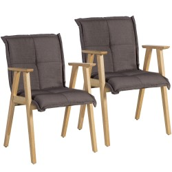 Tuolit 2kpl RAZOR käsinojilla