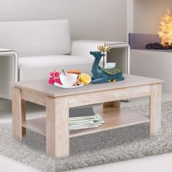 Sohvapöytä, puun värinen