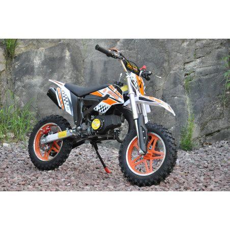 Minikrossi 49cc, oranssi
