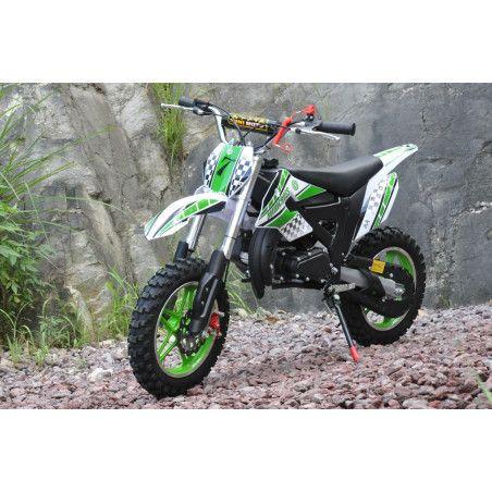 Minikrossi 49cc, vihreä