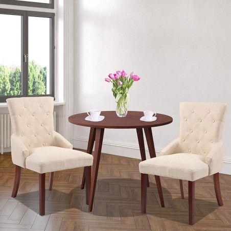 Pehmustetut Ruokapöydän tuolit 2kpl