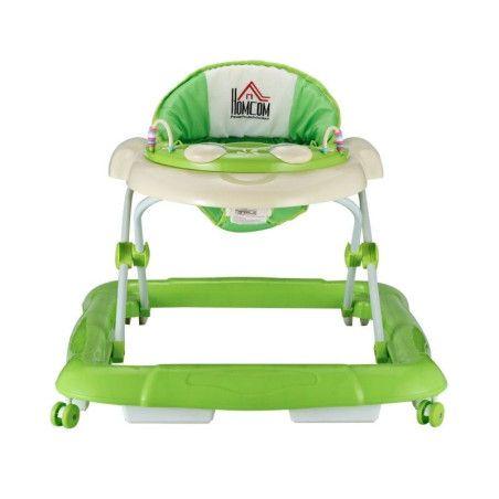 Vauvojen kävelytuoli, vihreä